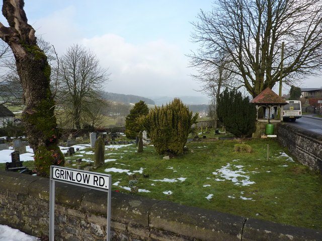 Cemetery on Grinlow Road, Buxton