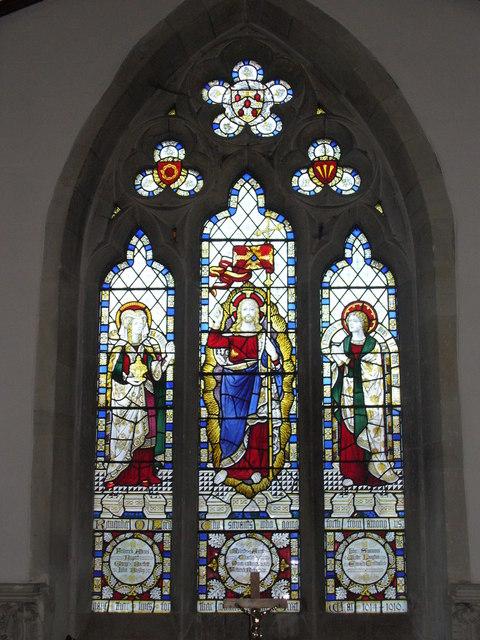 East Window, Turville Church