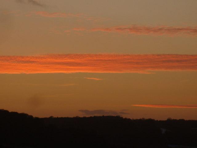Fingest Sunset