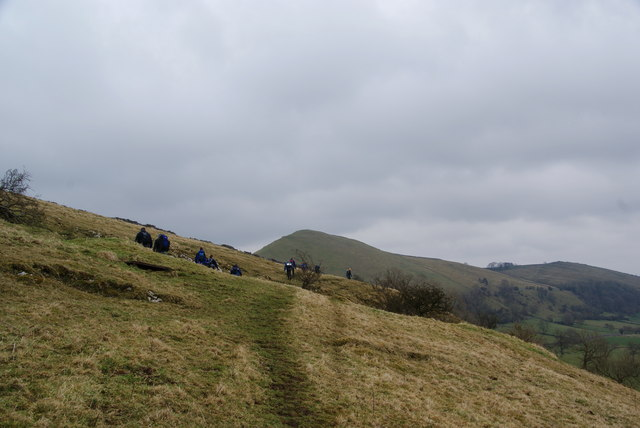 A hillside path above Dovedale