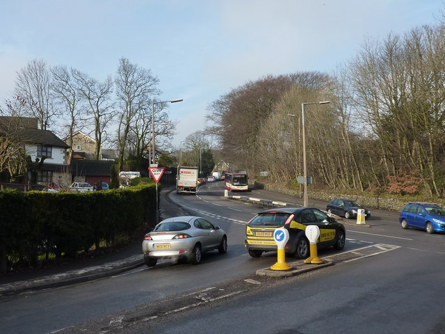 Traffic on the A515 in Buxton