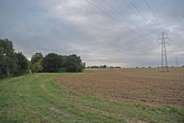 Northward Path to Creaseys farm