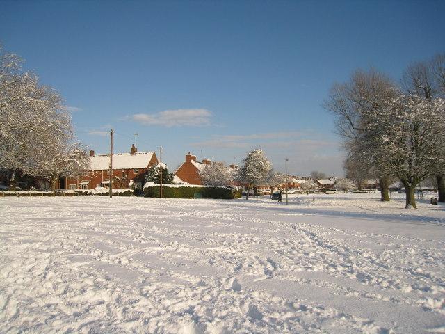 Snowscene in Norden