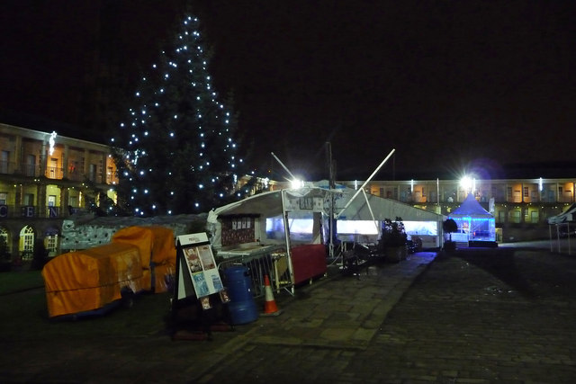 Christmas attractions at the Piece Hall