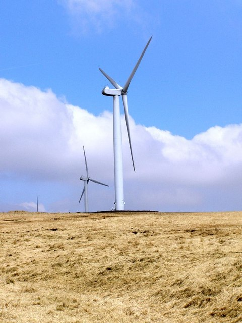Knowl Moor, Wind Turbines