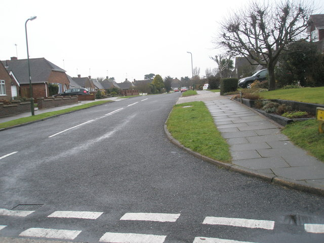 Junction of  Pigeonhouse Lane and Jervis Avenue