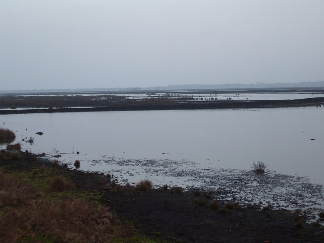 Re flooded Peat workings