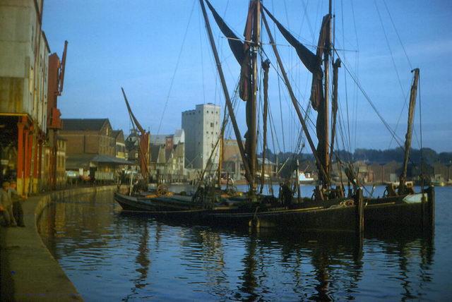 Ipswich docks - early 1960's.