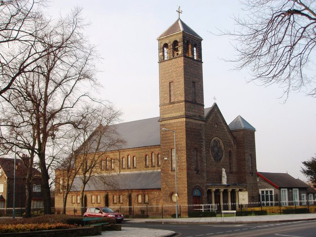 St Joseph's Church on Marton Road