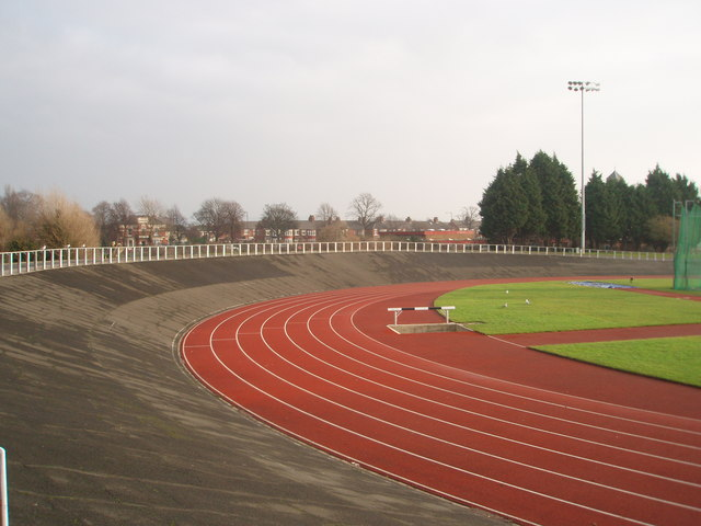 Clairville Stadium athletics track