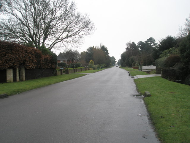 Mid section of Angmering Lane