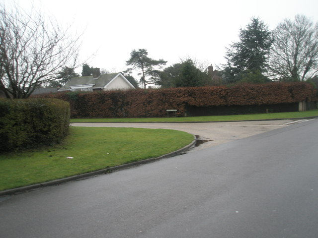 Junction of  Angmering  Lane and Myrtle Grove