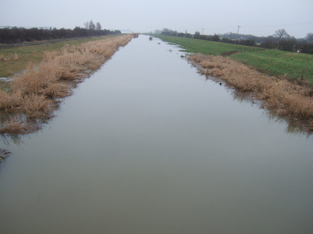 The New Bedford River - The Ouse Washes at Mepal