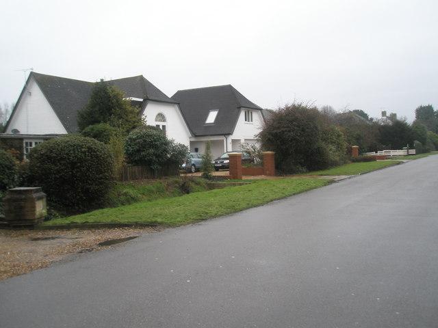 Houses in Angmering Lane