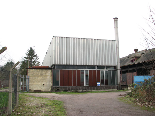 The pumping station in Trowse Millgate