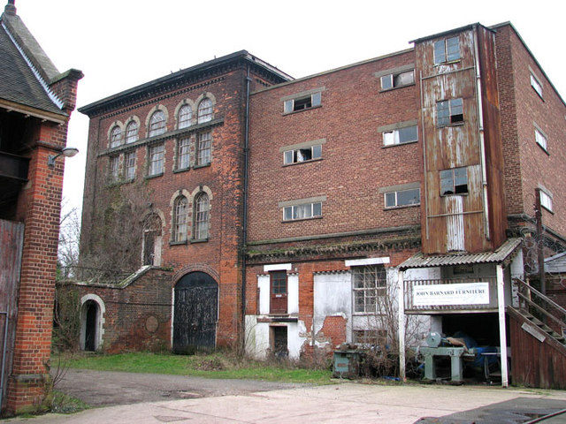 The old pumping station in Trowse Millgate
