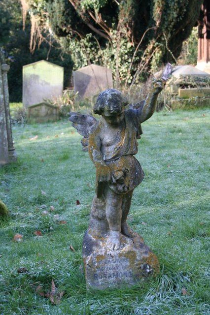Angel in the churchyard