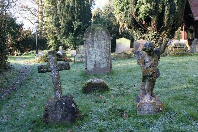 Gravestones at St James