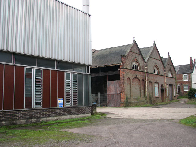 Trowse pumping station - ancillary building