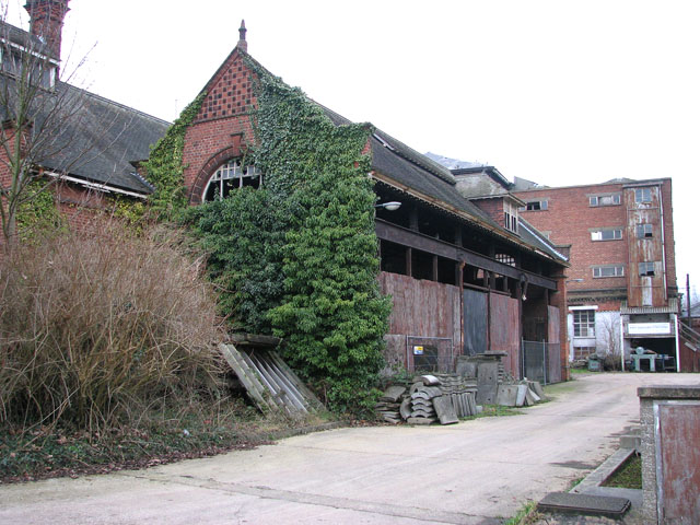 Trowse pumping station - ancillary building seen from the SE