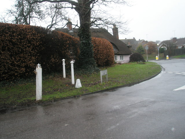 Looking from Angmering Lane towards the B2140