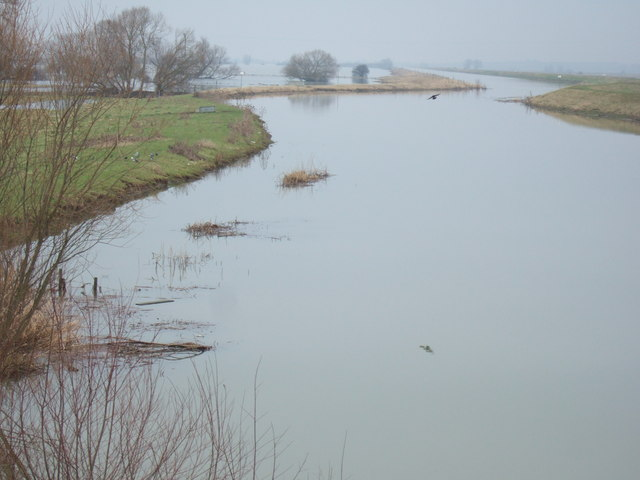 Well flooded - The Ouse Washes at Earith