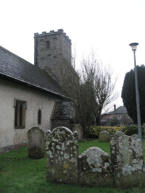 A very wet St Mary's Churchyard (11)