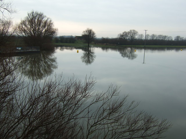 The River Great Ouse from Earith bridge