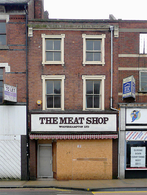 The (former) Meat Shop, Victoria Street, Wolverhampton