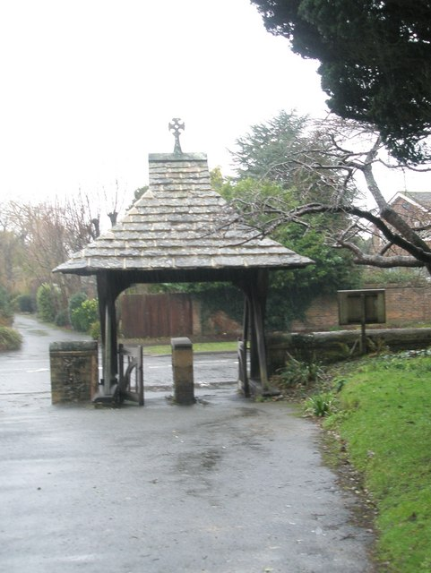 The lych gate at St Mary's, East Preston
