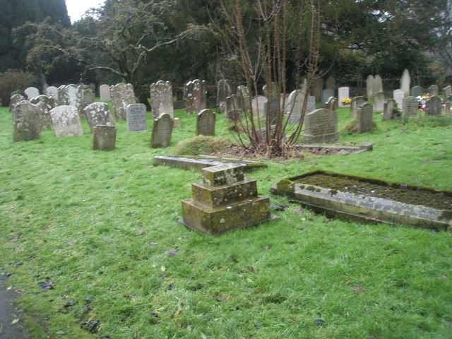 A very wet St Mary's Churchyard (14)