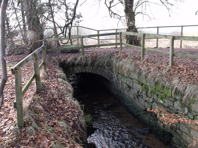 Colzium Estate bridge over canal feeder