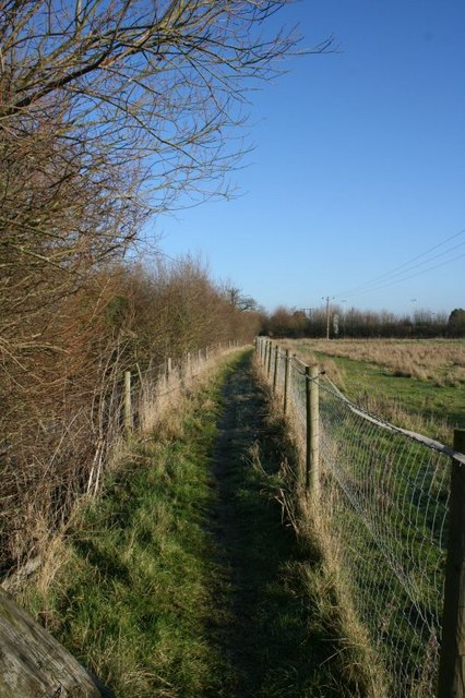 Footpath towards the Bypass