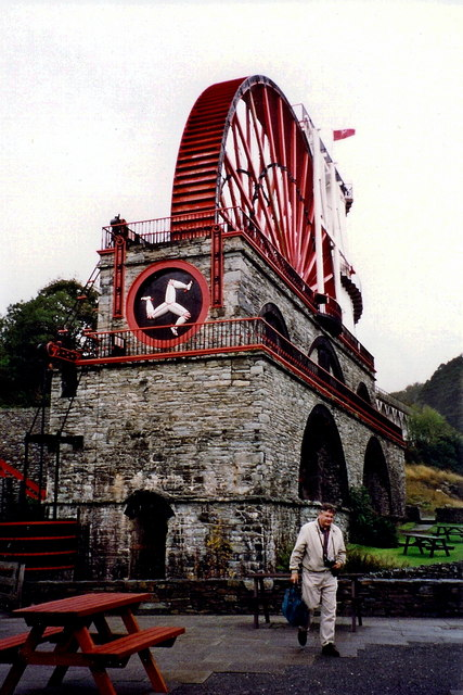 Laxey - Laxey Wheel (Lady Isabella)