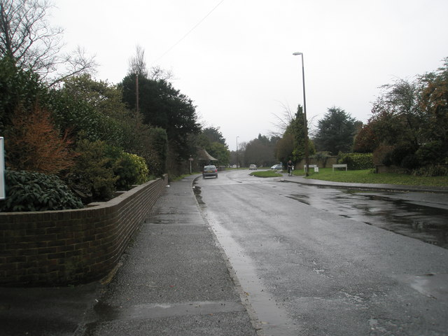 A dull January afternoon in Station Road