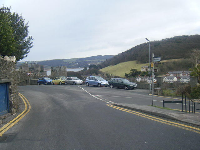 Sychnant Pass Road/St Agnes Road junction.