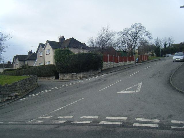 Mount Park/St Agnes Road junction.