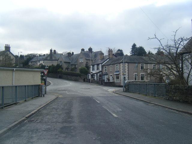 St Agnes Road/Llanrwst Road junction.