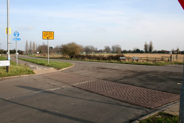 Junction on Adbolton Lane