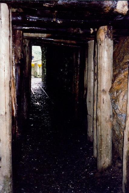 Laxey - Disused mine in Glen Mooar