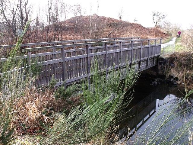 Townhead Reservoir, dry sluice