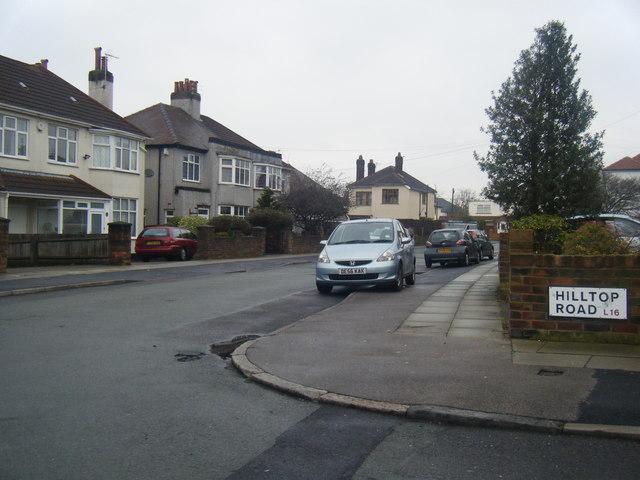 Corbridge Road at Hilltop Road junction.