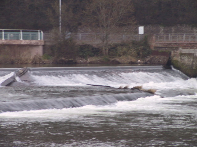 Weir on the River Exe