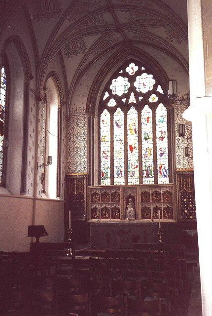 High altar, Llandaff Cathedral