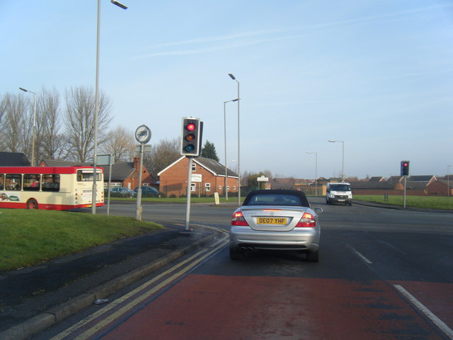 Kings Drive/Childwall Valley Road junction.