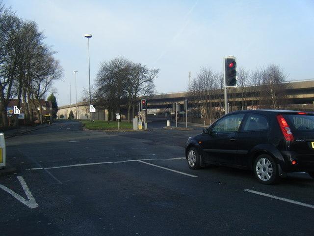Bowring Park Road/Rocky Lane junction.