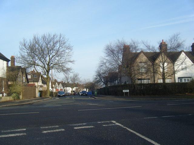 Wavertree Nook road/Thingwall Road junction.