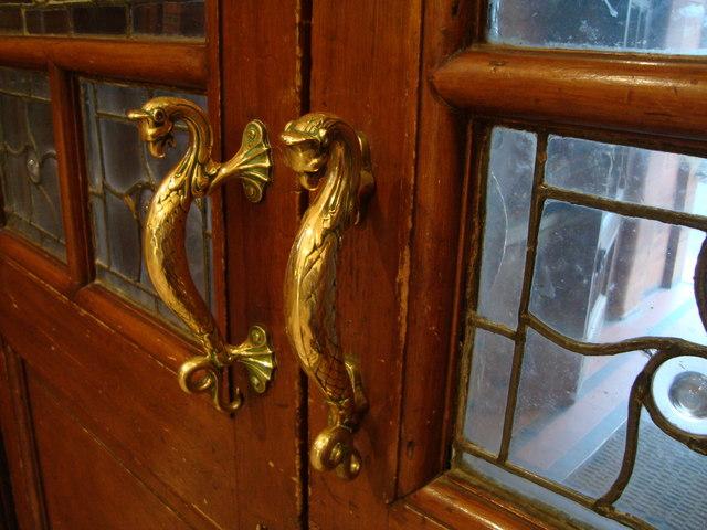 Door Handles, Pollokshields Burgh Hall
