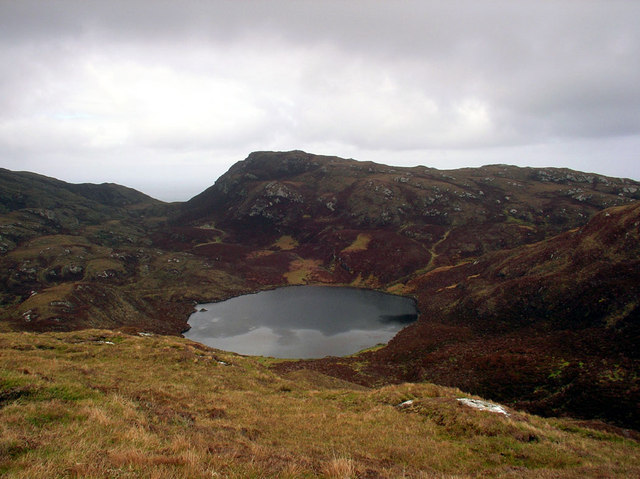 The View to Loch nan Airm from Bealach na Doillaid