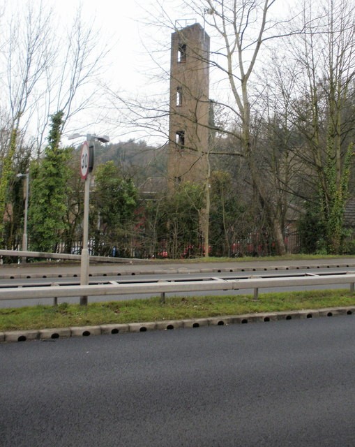 Training tower, Duffryn Fire Station